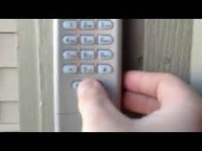 How To Reprogram Garage Door Keypad Reset Garage Door Keypad Code Pin Remote Opener Best Garden Ideas