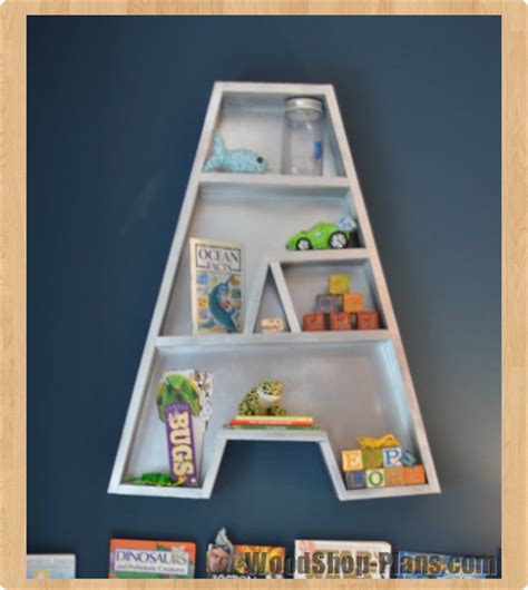 letter shelf kids letter shelf woodworking plans woodshop plans
