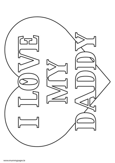 coloring pages love dad u of i love my daddy coloring pages print coloring pages