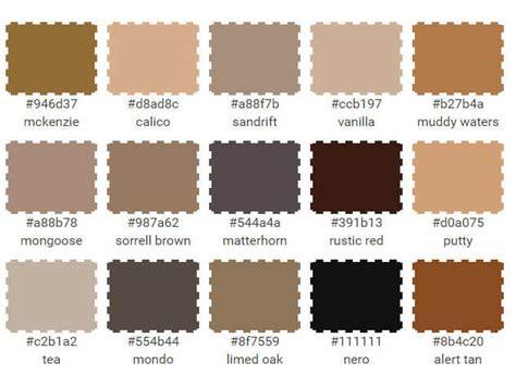 reddish brown color names living room color scheme vanilla sorrell brown rustic