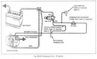 charging circuit diagram of 1979 gmc light duty truck series 10 35 60306 circuit and wiring
