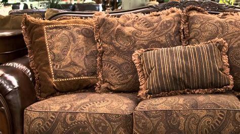 ashley fresco sofa ashley fresco antique sofa and loveseat set youtube