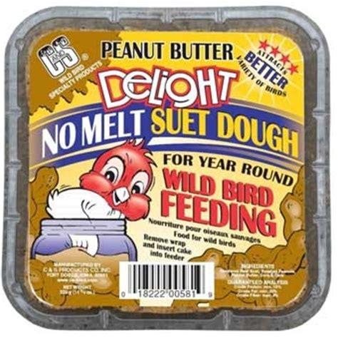 c s peanut butter delight no melt suet dough 11 75 oz