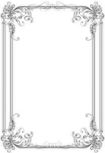 Oval Office Clock free black clip art borders and frames weddings custom