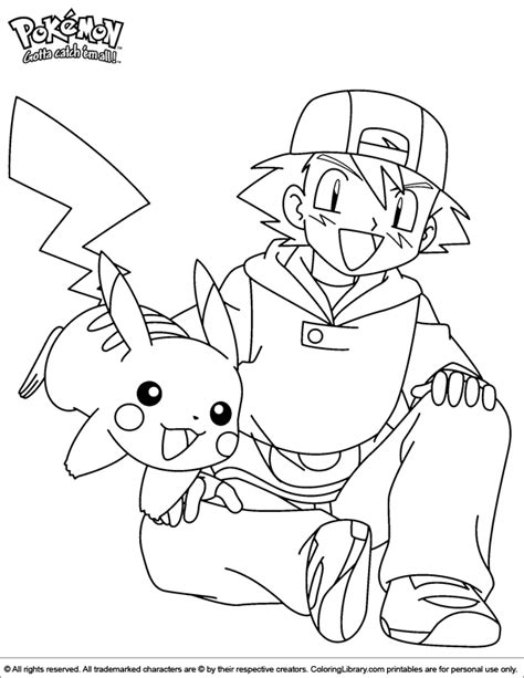 Pokemon Coloring Picture Coloring Pictures For