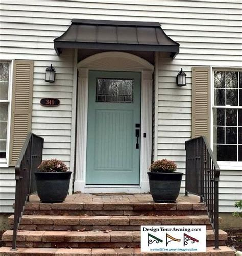copper porch awning images for front door awnings awning over front door in