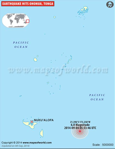 earthquakes  tonga area affected  earthquake  tonga