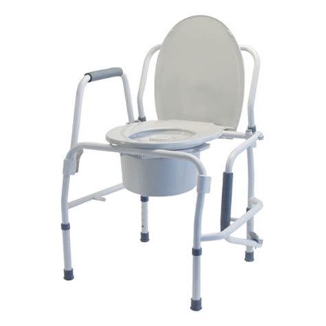Drop Arm Commode Chair by Drop Arm Commodes Toilet Chairs Lumex 6433a