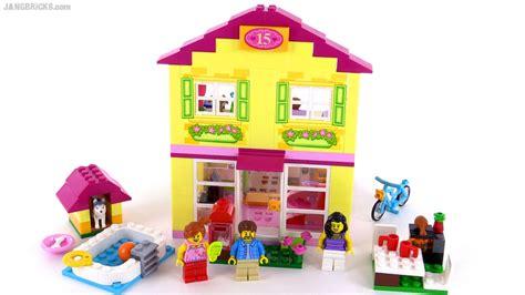 Mainan Anak Lego Duplo 10686 Family House lego juniors family house review set 10686
