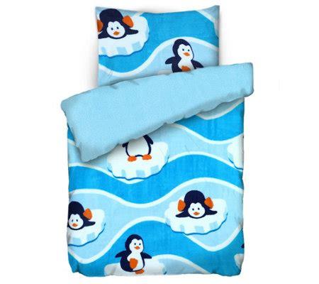 qvc kinderbettwasche badizio badizio classic mf pl 252 schtrikot kinderbettw 228 sche pinguine