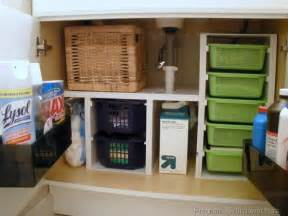 House 31 days to a functional kitchen day 6 under the sink storage