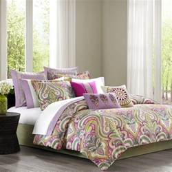 Bedding Sets Paisley Echo Vineyard Paisley Comforter Set King Multi Ebay