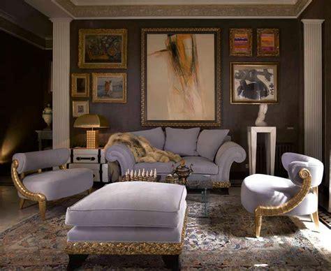canapé style baroque salon moderne baroque