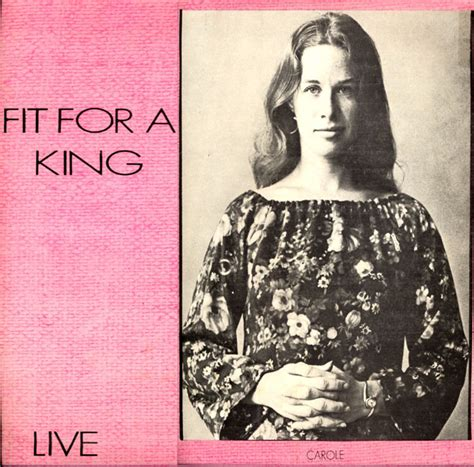Carole King A Place To Live Lyrics Enjoy This Great Of Carole King History