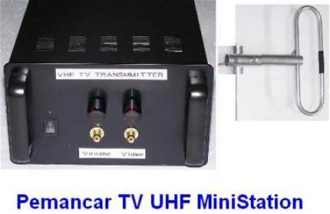 cara membuat antena pemancar tv vhf paket pemancar tv uhf 10 watt