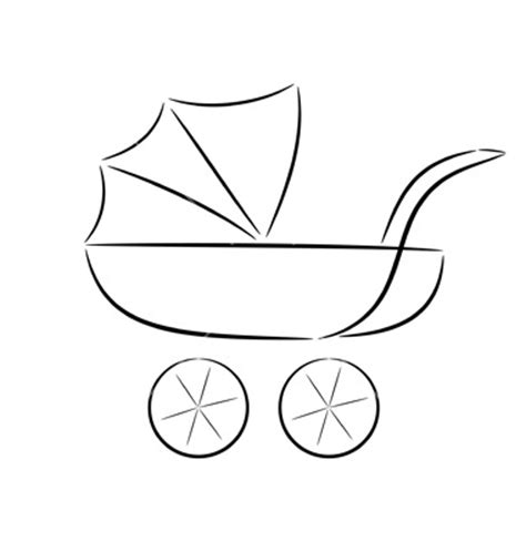 Outline Of A Carriage by Silhouette Of A Pram Flickr Photo