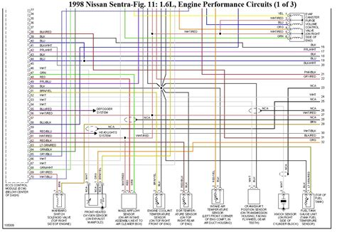 nissan sentra wiring diagram wire diagram source