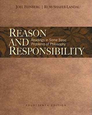 philosophy basic readings reason and responsibility readings in some basic problems of philosophy 14th edition rent