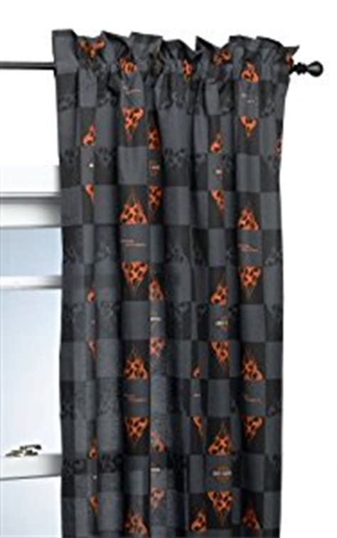 harley davidson window curtains com harley davidson flames 84 by 63 inch window