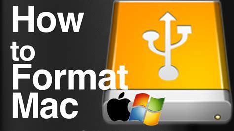 format external hard drive mac youtube guide how to format an external hard drive to work with