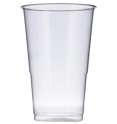 vaso trasparente vaso de plastico pp transparente 350 ml 50 unidades