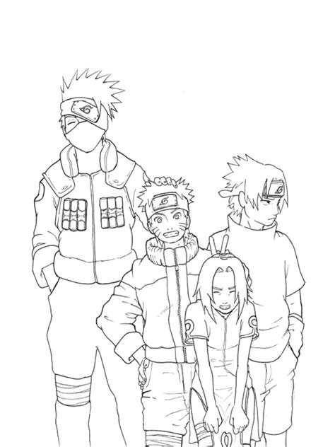naruto coloring pages best of characters free coloring