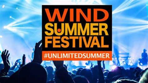 wind summer festival wind summer festival 2017 polemiche per il concerto di