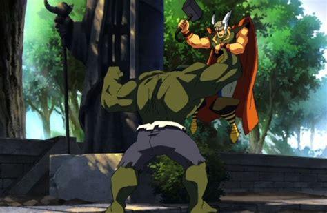 thor movie vs comic hulk vs thor movie comic vine