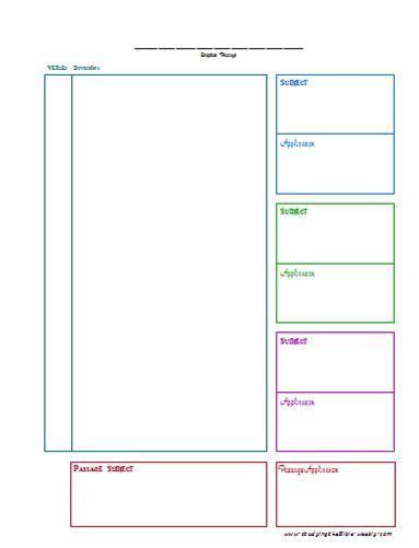 printable journey template homiletics worksheet worksheets releaseboard free
