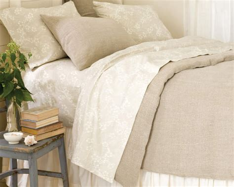 washed linen bedding pine cone hill stone washed linen duvet cover ships free