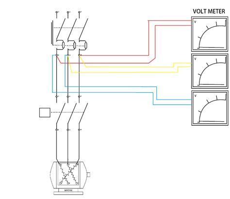 Voltmeter Untuk Panel cara memasang volt meter ere meter dan frekuensi