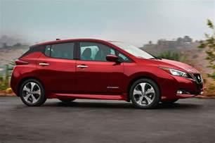nissan leaf colors 2018 nissan leaf drive review motor trend