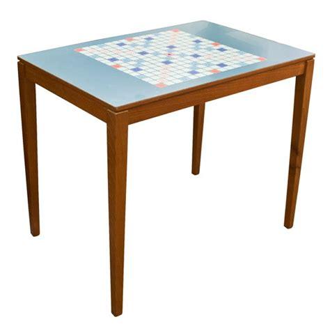 scrabble table upcycled scrabble table scrabble tile crafts