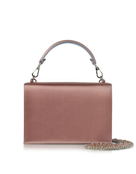 Rodo Satin Clutch rodo pink blue satin silk celebration clutch fashion