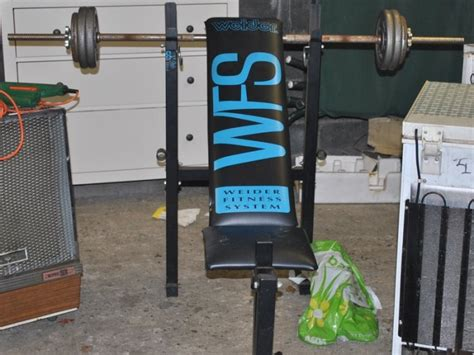 bench press and weights for sale for sale in castleknock