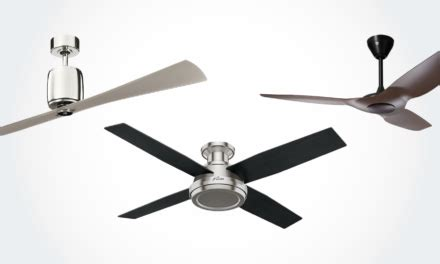 Quietest Ceiling Fan by 11 Best Modern Ceiling Fans With Lights Remote Without