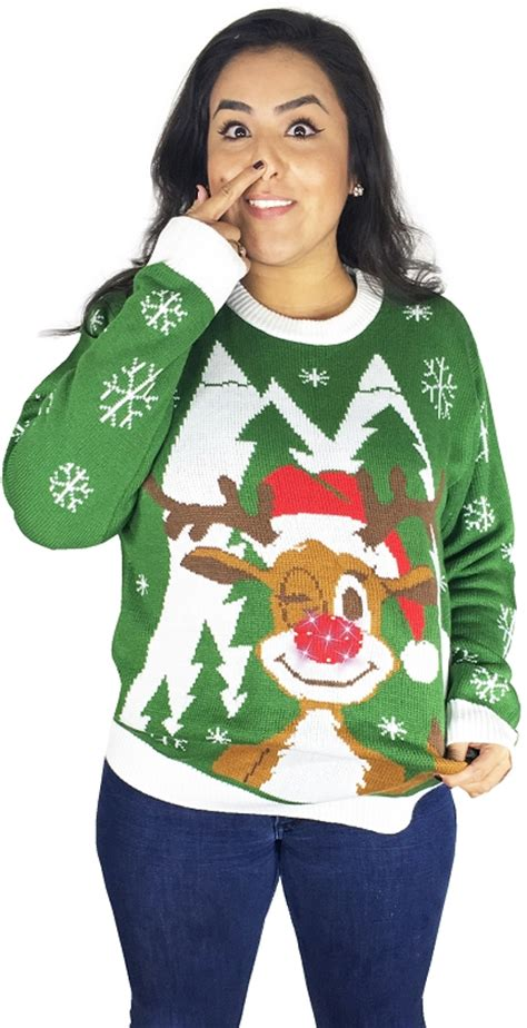 Sweaters Light Up by Light Up Sweater Hello Deer Stupid