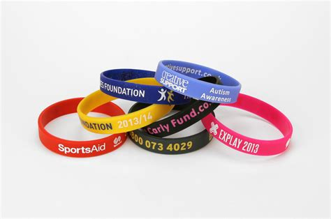design my own wristband   Custom Your Own Silicone Bracelets