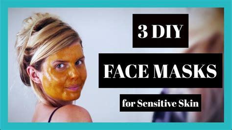 diy mask sensitive skin 3 diy masks for sensitive skin