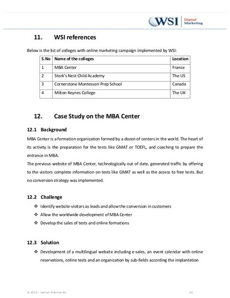 Analysis Cornerstone Exit Opportunities Post Mba by Inbound Marketing For Education 10 Studies