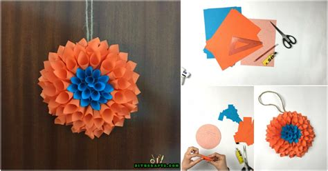 How To Make A Wreath Out Of Paper - how to make a stunning flowery wreath out of nothing more