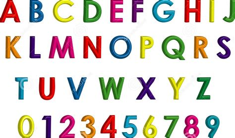letter and number letters and numbers for colorful kiddo shelter