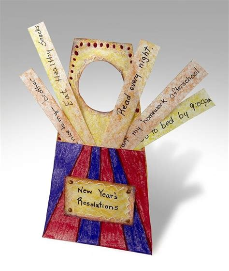 New Year New Hangers by Craft Activity New Year S Resolution Reminder Door Knob