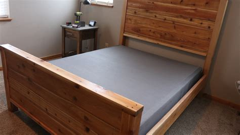 bed frame with springs diy bed frame plans how to make a bed frame with diy pete