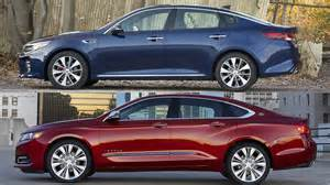 kia optima sx limited 2016 vs 2016 chevrolet impala ltz
