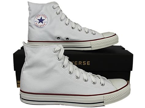 converse shoes white high tops