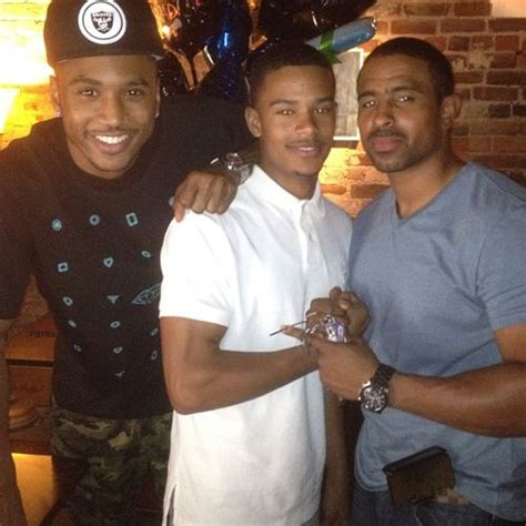 trey songz his brother amp father wow trey songz