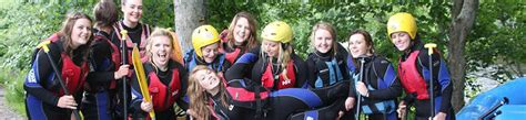 hen parties in north wales hen stag weekends races hen weekends whitewater rafting in llangollen north wales uk