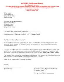 Debt Settlement Offer Letter Template by Best Photos Of Paid In Agreement Debt Settlement