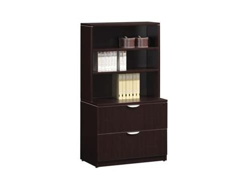 pl espresso lateral file cabinet with hutch ikners